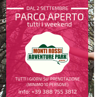Settembre: parco aperto ogni weekend